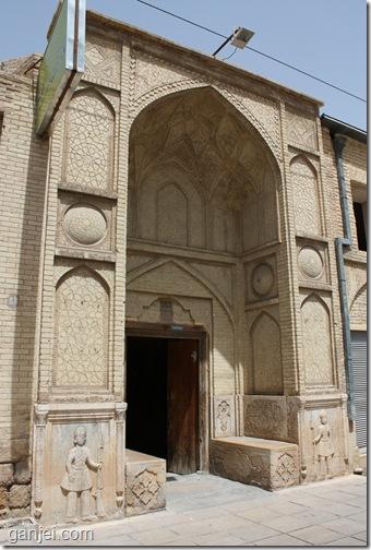 ورودی خانه زینت الملوک